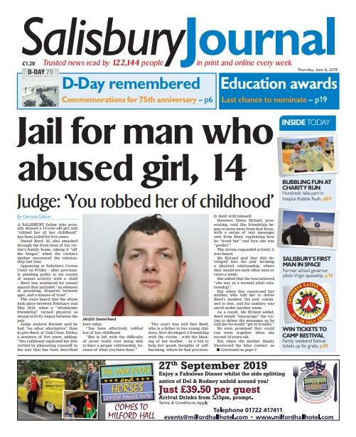 Salisbury Journal front 06-06-19