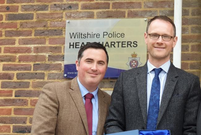 Matthew McGinn, Crimestoppers and Oliver Selfe, Wiltshire FA.