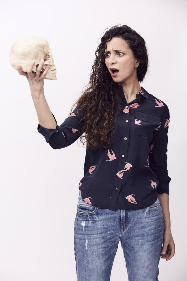 Stand-up comedian Ella Al-Shamahi is part of the line-up for the Festival of Archaeology at Salisbury Museum